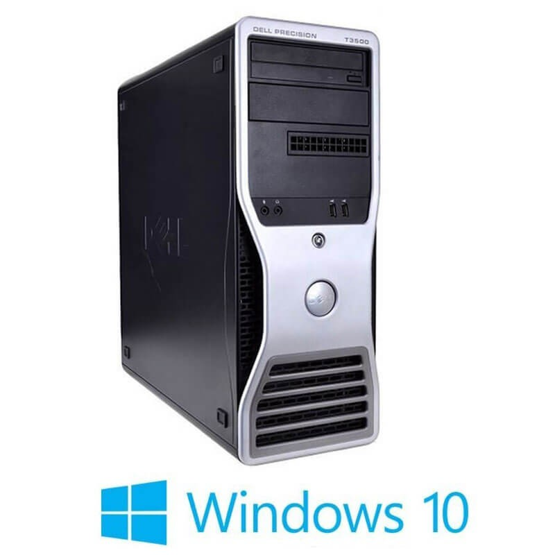 Workstation Refurbished Dell Precision T3500, E5645, Quadro K600, Win 10 Home