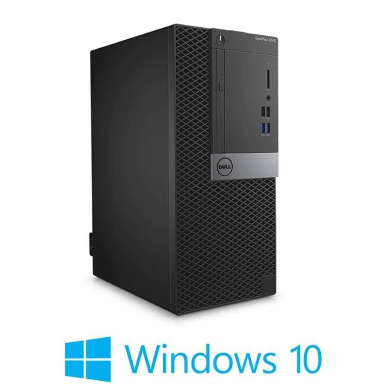 Calculatoare Refurbished Dell OptiPlex 3040 MT, Quad Core i5-6500, Win 10 Home