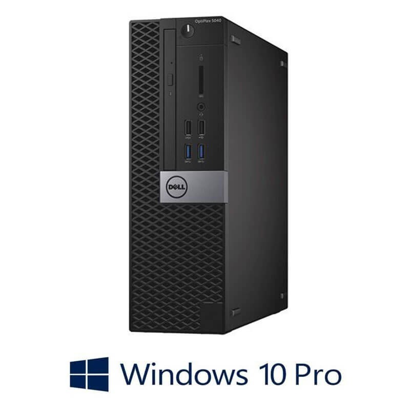 Calculatoare Refurbished Dell OptiPlex 5040 SFF, Quad Core i5-6500, Win 10 Pro