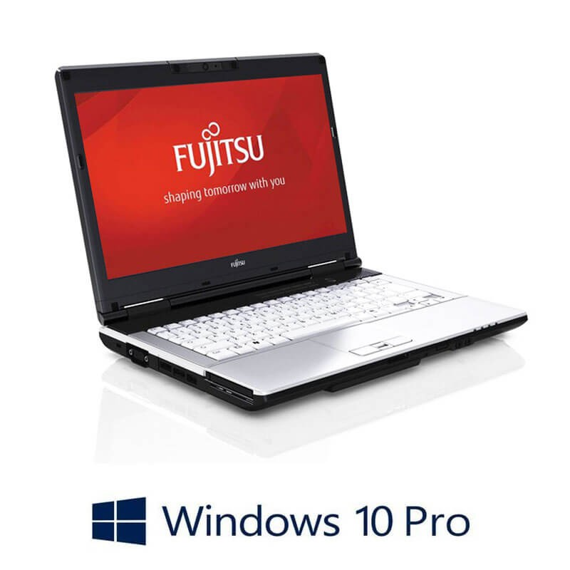 Laptopuri Refurbished Fujitsu LIFEBOOK S751, Intel i3-2350M, Webcam, Win 10 Pro