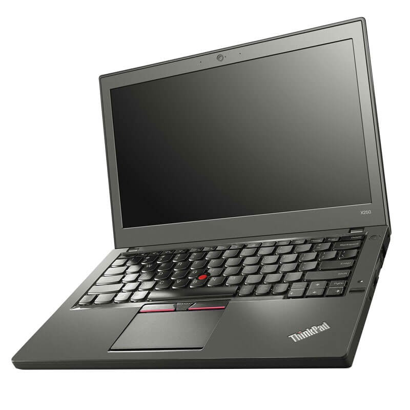 Laptop SH Lenovo ThinkPad X250, i7-5600U, Full HD, 256GB SSD, Webcam, Grad B
