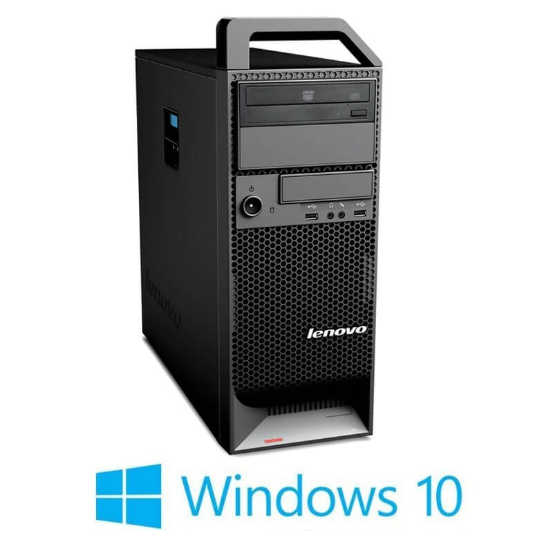 Workstation Refurbished Lenovo ThinkStation S20, Xeon X5650, Quadro 2000, Win 10 Home