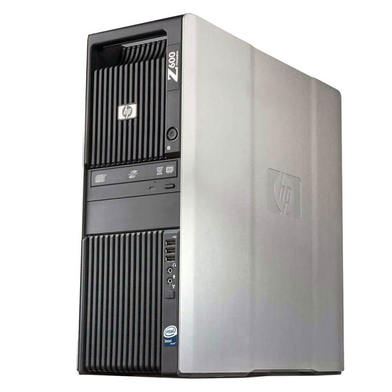 Workstation SH HP Z600, 2 x Intel Xeon Hexa Core E5649, 12Gb RAM