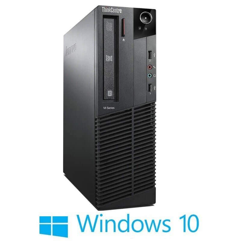 Calculatoare Refurbished Lenovo ThinkCentre M93p SFF, Intel i3-4130, Win 10 Home