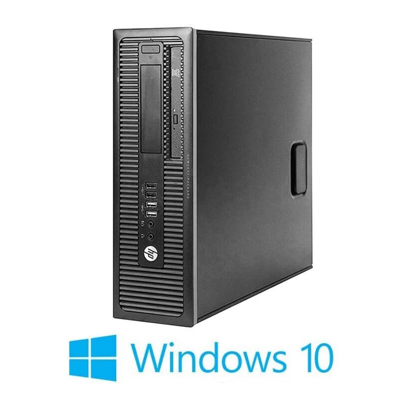 Calculatoare Refurbished HP Prodesk 600 G1 SFF, i7-4790K, 128GB SSD, Win 10 Home