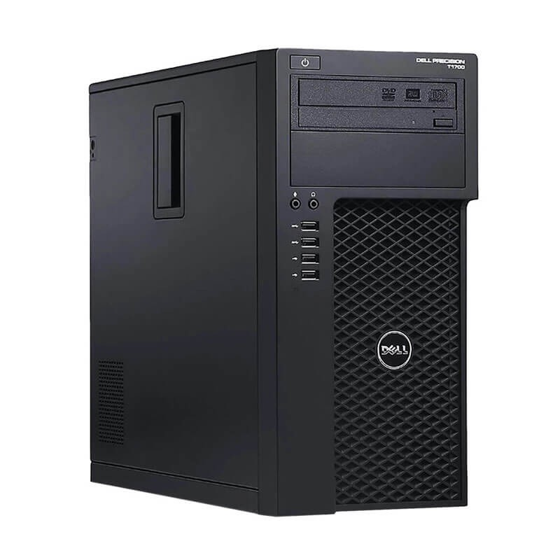 Workstation SH Dell Precision T1700, Xeon Quad Core E3-1245 v3, GeForce 605 DP