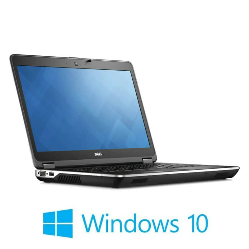 Laptopuri Refurbished Dell Latitude E6440, i7-4610M, 250GB SSD, Full HD, Win 10 Home