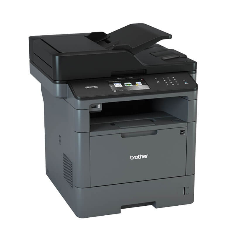 Multifunctionale Refurbished Laser Monocrom Brother MFC-L5750DW, Wireless