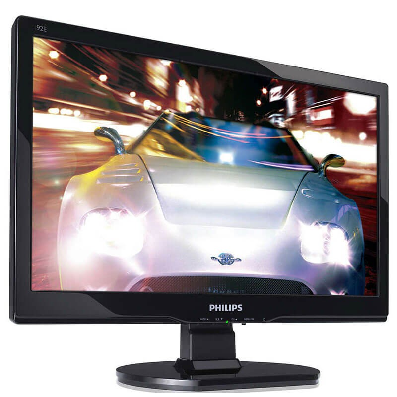 Monitoare Refurbished LCD Philips 192e, 18.5 inch WideScreen