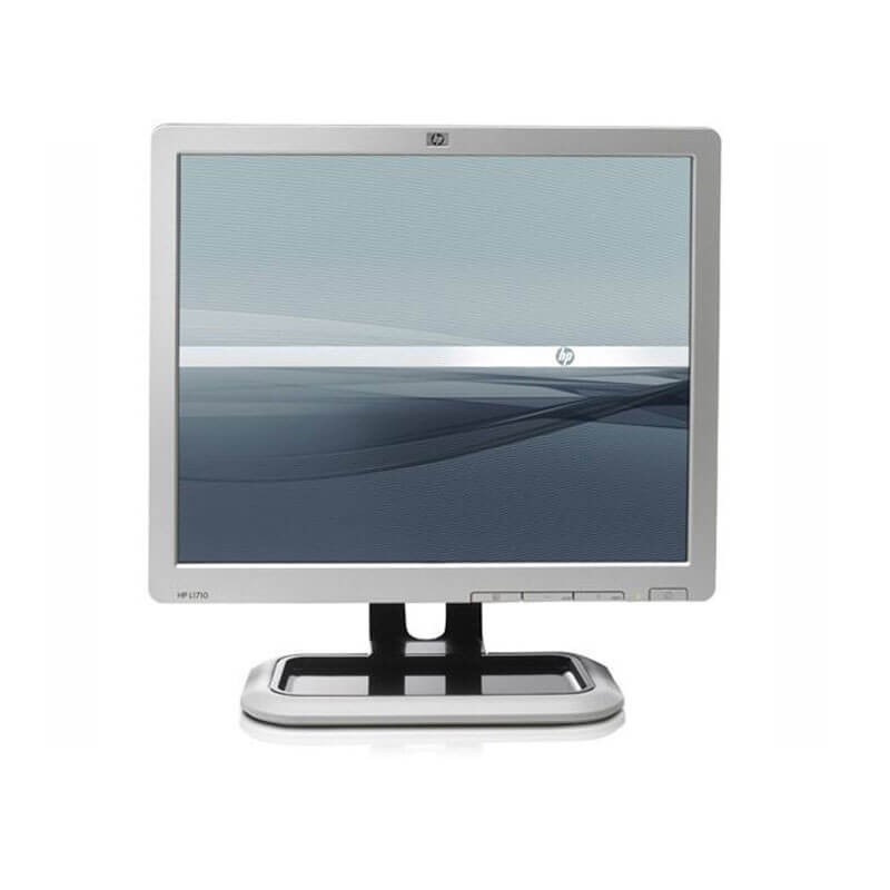 Monitoare Refurbished LCD TFT HP L1710, 17 inch