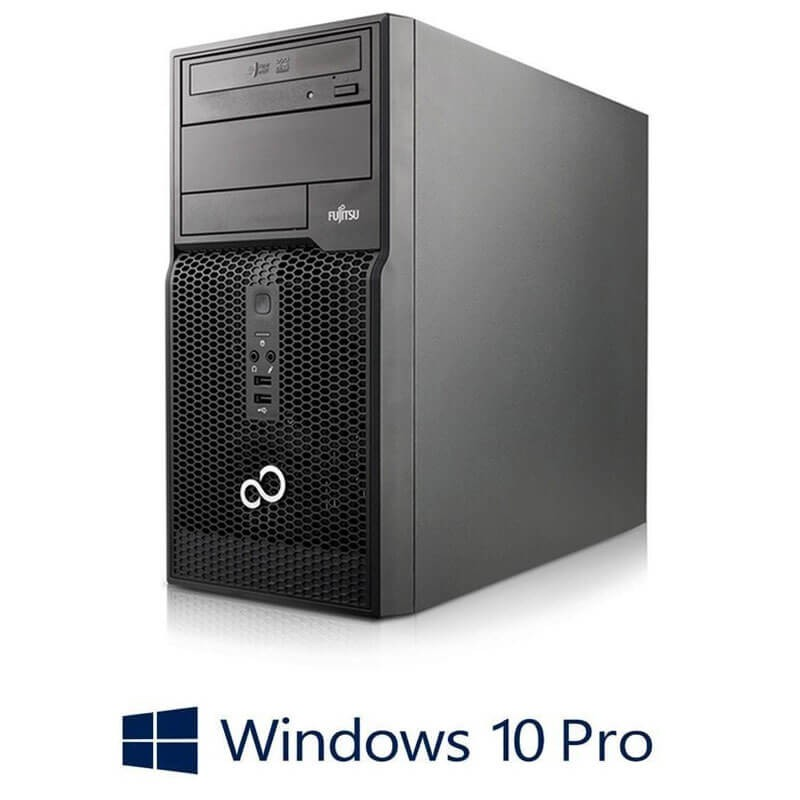 PC Refurbished Fujitsu ESPRIMO P500, Core i3-2100, Win 10 Pro