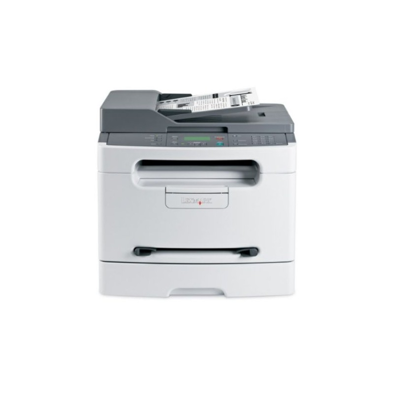 Multifunctionale Second Hand Laser Monocrom LEXMARK X204N, Toner Full