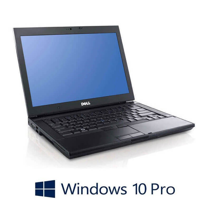 Laptopuri Refurbished Dell Latitude E6400, Core 2 Duo P8600, 120GB SSD, Win 10 Pro