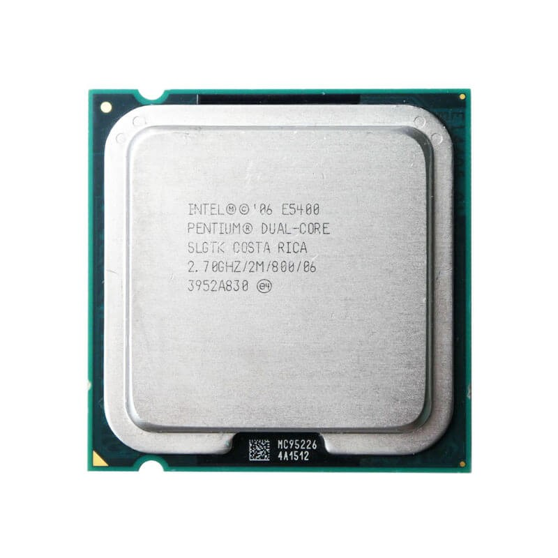 Procesor Refurbished Intel Pentium E5400, 2.70GHz, 2Mb Cache