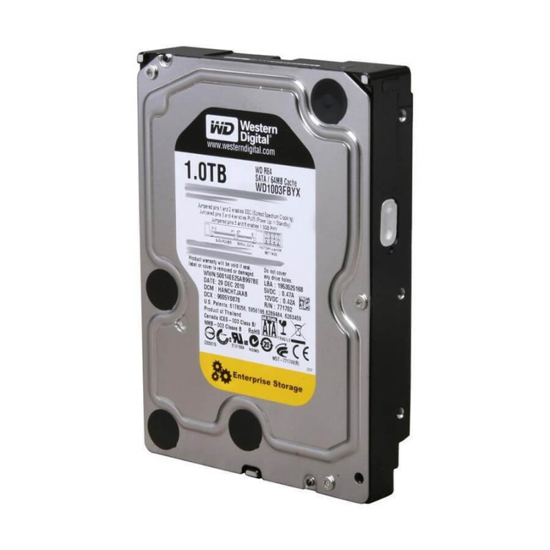 Hard Disk SH 1TB Western Digital Enterprise Storage WD RE4