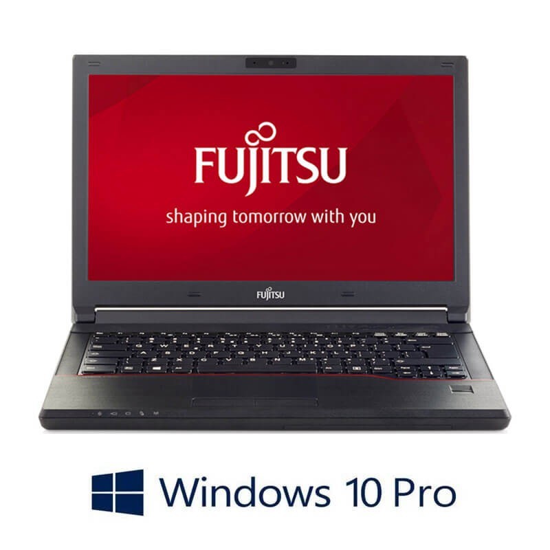 Laptopuri Refurbished Fujitsu LIFEBOOK E546, i3-6006U, SSD, Webcam, Win 10 Pro