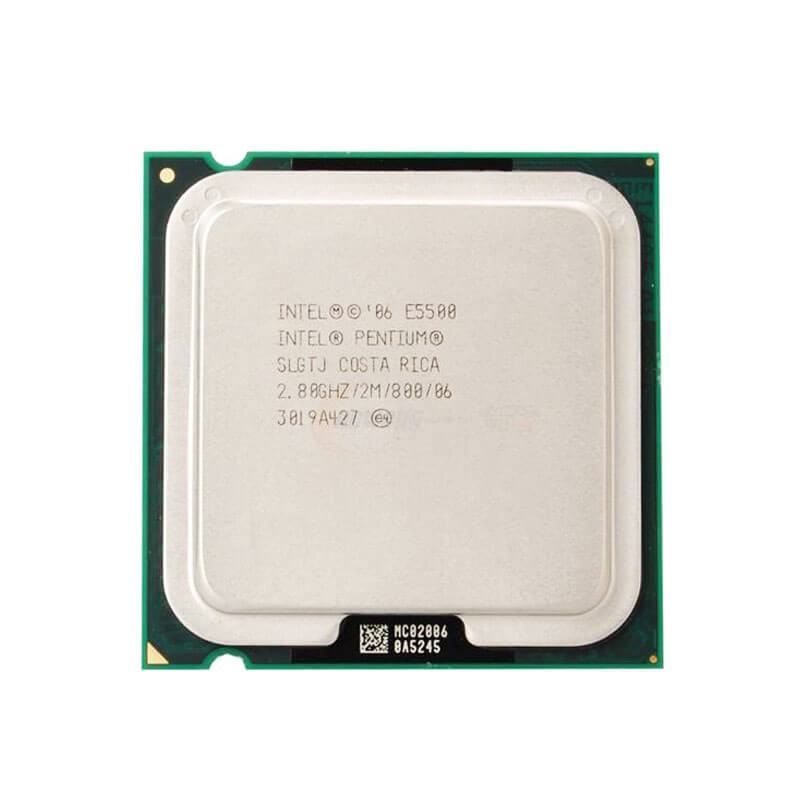 Procesor Refurbished Intel Pentium E5500, 2.80GHz, 2Mb Cache
